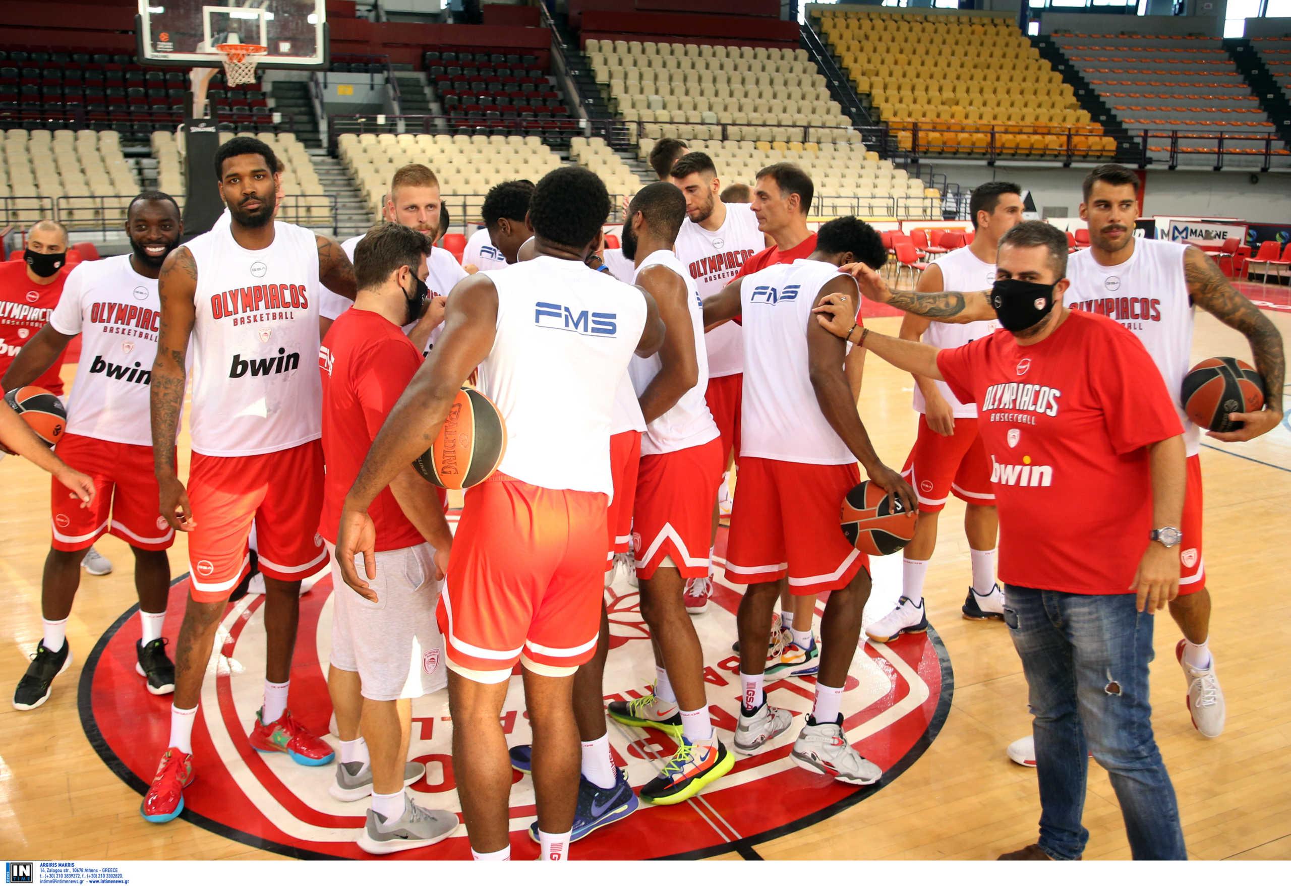 Μπάσκετ: Σε καραντίνα τέθηκε ολόκληρη η ομάδα του Ολυμπιακού!