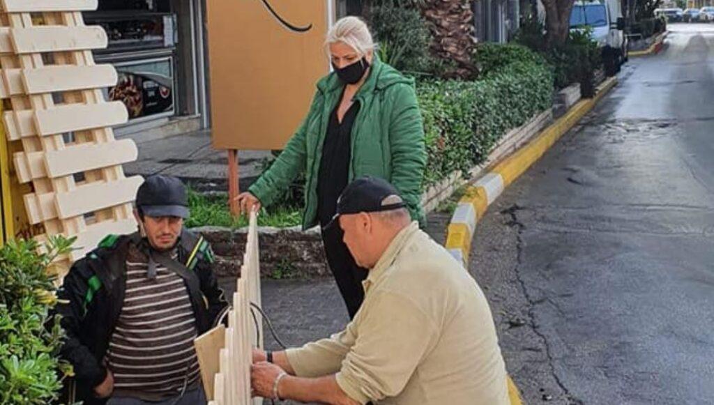 Αντωνία Καρακατσάνη: Παρεμβάσεις και εργασίες εξωραϊσμού στη Ε δημοτική κοινότητα Πειραιά