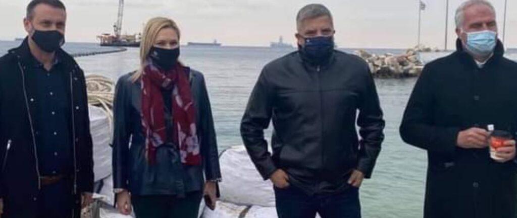 """Βασιλική Θεοδωρακοπούλου-Μπόγρη: """"Ο υποθαλάσσιος αγωγός της Αίγινα είναι έργο πνοής για την Αττική"""""""