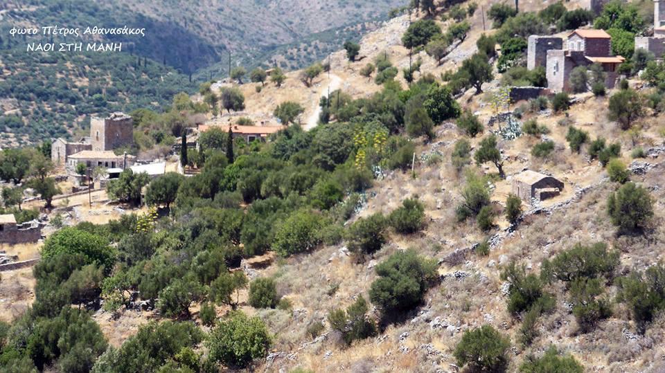 Μάνη: Το χωριόΑφούγγια (Σκαλτσοτιάνικα)