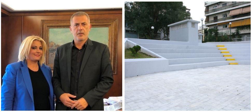 Δήμος Πειραιά: Αλλάζουν όψη οι πλατείες 34ου Συντάγματος και Ευαγγελιστρίας