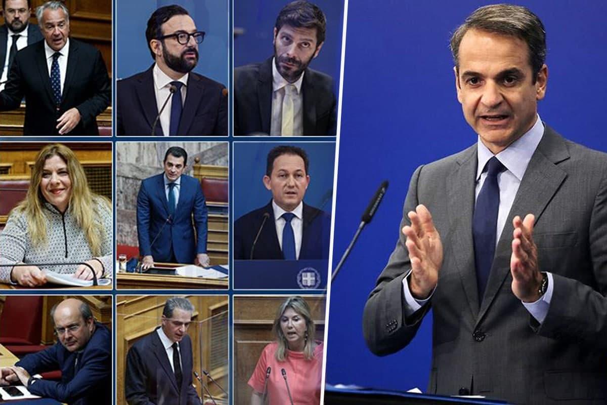 """ΠΡΙΝ το ρεκόρ! Όταν ο Μητσοτάκης υποσχόταν (προεκλογικά) """"μικρό υπουργικό συμβούλιο""""-video"""