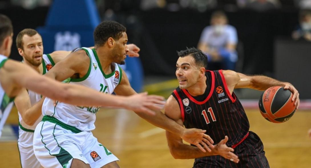 Ζαλγκίρις-Ολυμπιακός 81-79: Αυτοκαταστροφή στο φινάλε! Highlights