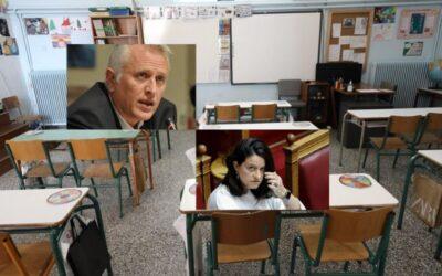 Β ΠΕΙΡΑΙΑ: Ο Γιάννης Ραγκούσης στο πλευρό των γονέων της Β Πειραιά για τις τραγικές ελλείψεις στα σχολεία