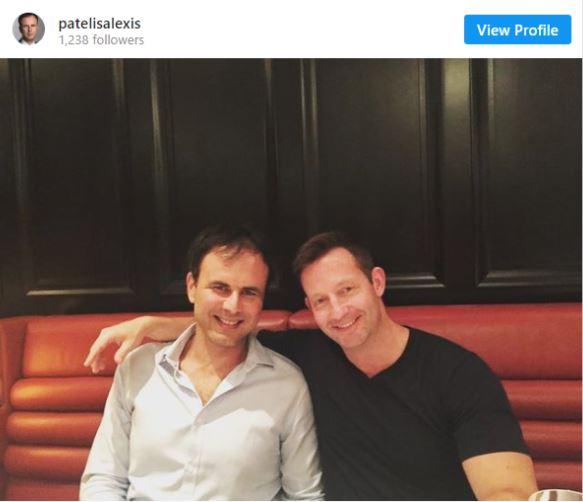 Αλέξης Πατέλης: Ο Στενός συνεργάτης του Πρωθυπουργού εύχεται στον ΣΥΝΤΡΟΦΟ του για την γιορτή των ερωτευμένων-PHOTO