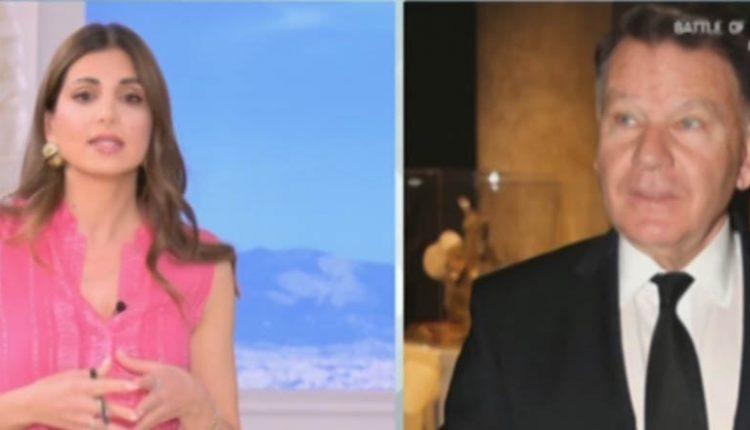 """Χαμός στον """"αέρα"""": Έξαλλος ο Αλέξης Κούγιας με την Σταματίνα Τσιμτσιλή – Της έκλεισε το τηλέφωνο-video"""