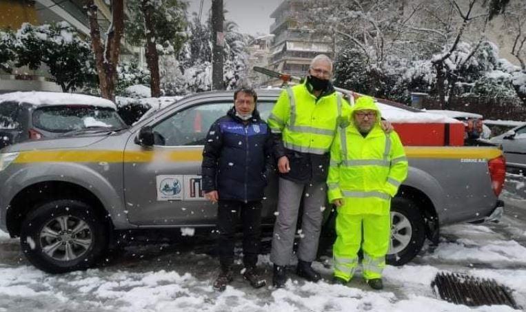 """Δήμος Πειραιά: Εργαζόμενοι και οι υπηρεσίες αντιμετώπισαν με επιτυχία την κακοκαιρία """"Μήδεια"""