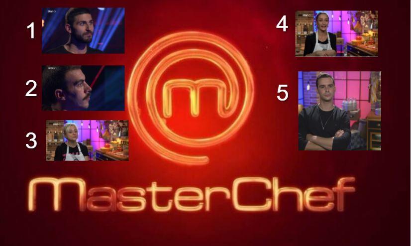 MasterChef 2021: Αυτοί είναι οι πέντε νέοι παίκτες που μπαίνουν στο σπίτι