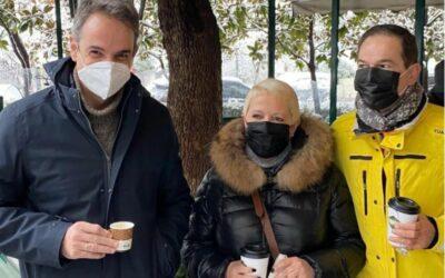 """Νέα πρόκληση """"ΑΝΕΜΕΛΙΑΣ"""" από τον Κ. Μητσοτάκη που πίνει καφέ στο Da Capo του Κολωνακίου..."""