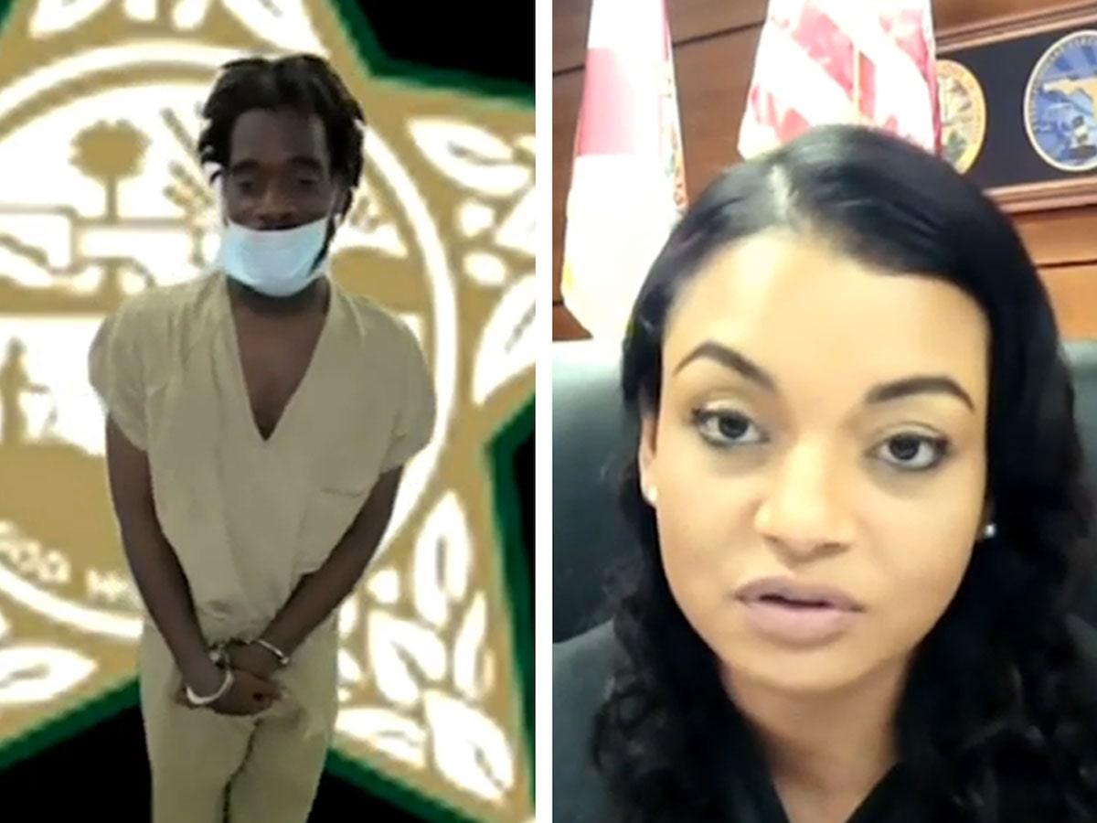 """VIRAL VIDEO: Κατηγορούμενος κάνει """"καμάκι"""" σε δικαστίνα για να γλιτώσει την φυλακή..."""