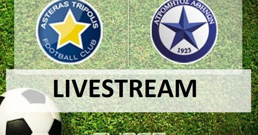 Ατρόμητος-Αστέρας Τρίπολης Live Streaming 6 Μαρτίου 2021