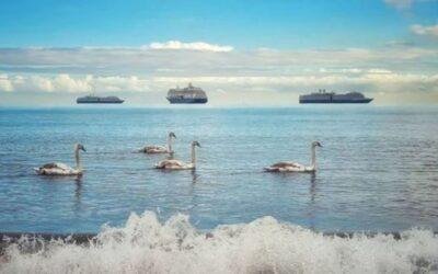 Fata Morgana: Το φυσικό φαινόμενο που γέμισε την θάλασσα με αιωρούμενα πλοία-PHOTOS