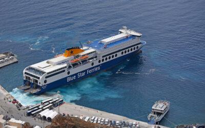 Κάλυμνος: Έλληνας Καπετάνιος κάνει μανούβρα σε πλοίο 180 μέτρων και δένει σε 3 λεπτά-video