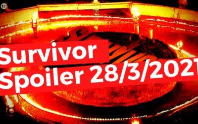 Survivor spoiler 28 Μαρτίου: ΑΝΑΤΡΟΠΗ! Tο ΠΑΝΑΚΡΙΒΟ έπαθλο και η αποχώρηση ΕΚΠΛΗΞΗ!