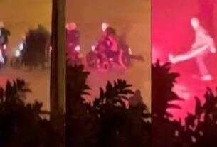 Νέα Σμύρνη: Άγριος ξυλοδαρμός του αστυνομικού για 2,5 Λεπτά – Όλο το Βίντεο Σοκ