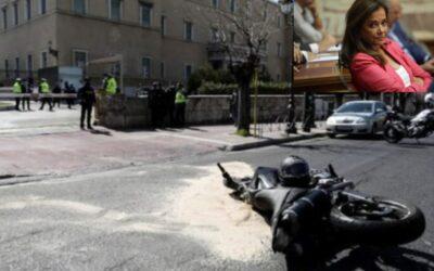 Στην ασφάλειά της Ντόρας Μπακογιάννη ανήκει το ΙΧ που τραυμάτισε θανάσιμα τον 23χρονο έξω από τη Βουλή
