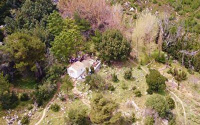 Πάρνηθα: Το μοναχικό εκκλησάκι του Αγίου Γεωργίου στη θέση Κεραμίδι-video