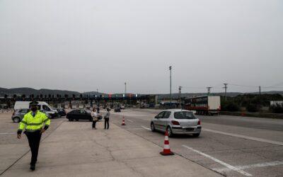 Μειωμένη η κίνηση το τελευταίο 24ωρο στα διόδια Ελευσίνας και Αφιδνών