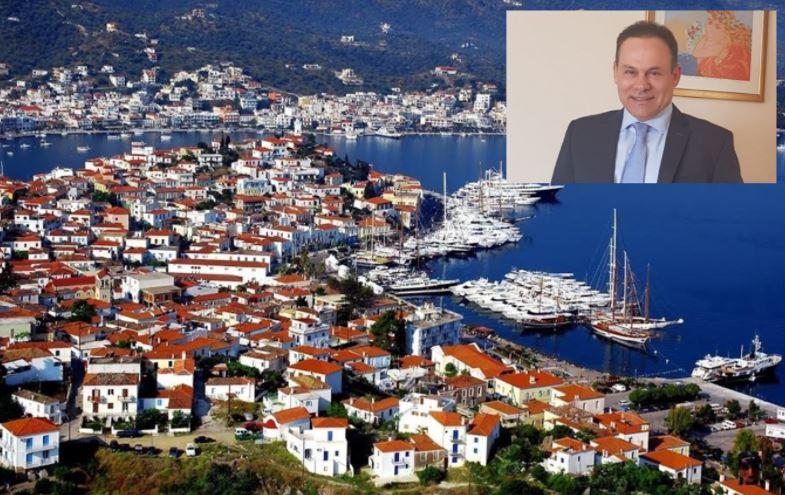 Ο Νίκος Μανωλάκος ζητά οικονομική ενίσχυση των επιχειρήσεων στον Πόρο