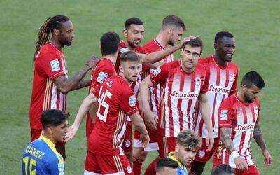 """Ολυμπιακός play off: Με πολλές αλλαγές και """"σβηστές"""" τις μηχανές 1-0 τον Αστέρα Τρίπολης-Highlights"""