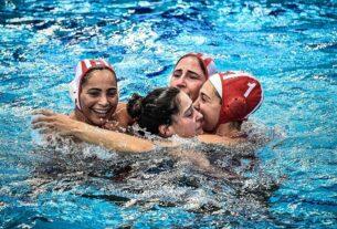 LEN Euroleague: Στον Τελικό η ομάδα γυναικών Πόλο του Θρύλου!