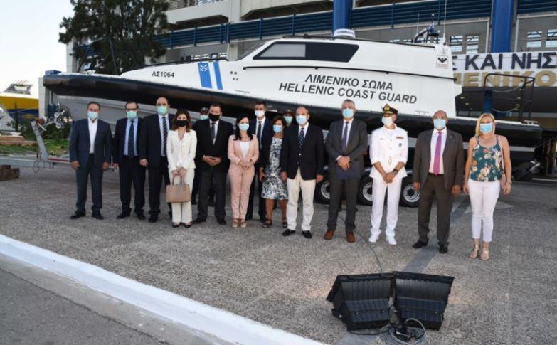 Χρηματοδότηση σκάφους από την Περιφέρεια στο Λιμενικό για διακομιδή ασθενών του Αργοσαρωνικού