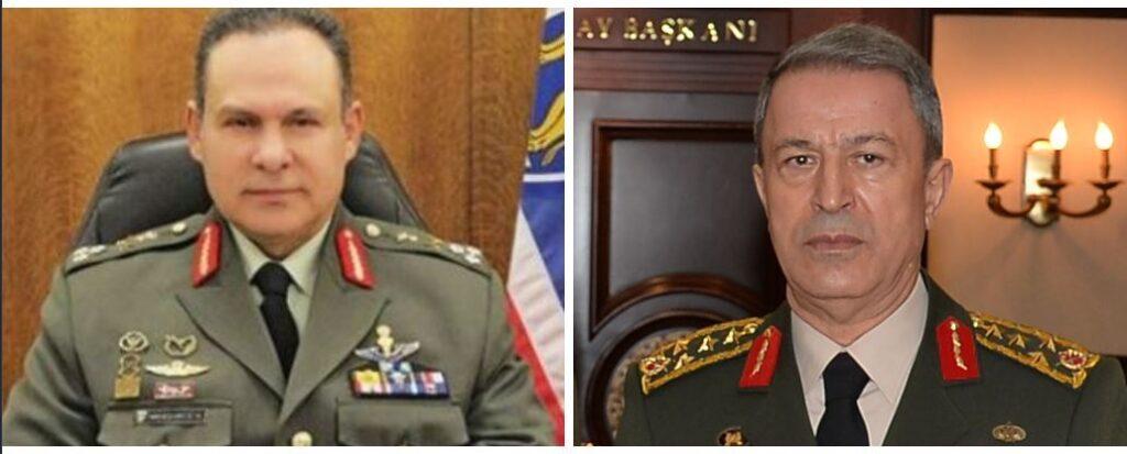 """Στρατηγός Μανωλάκος: """"Στρατηγέ Ακάρ μη μας υποτιμάτε, γιατί θα βρεθείτε προ εκπλήξεως"""""""