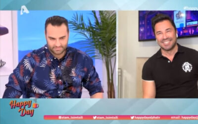«Happy Day»: Ποιος Μπουγέλωσε τον Φραγκολιά on air -video