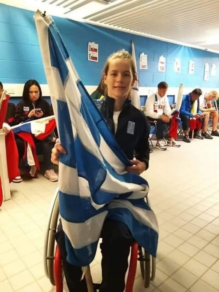 Πρωταθλήτρια Ευρώπης η Πειραιώτισσα παραολυμπιονίκης Αλεξάνδρα Σταματοπούλου