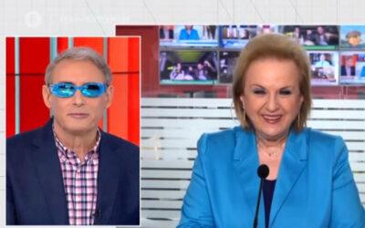 Χασαπόπουλος και Βούλγαρη φόρεσαν on air τα viral γυαλιά της Παγώνη – video