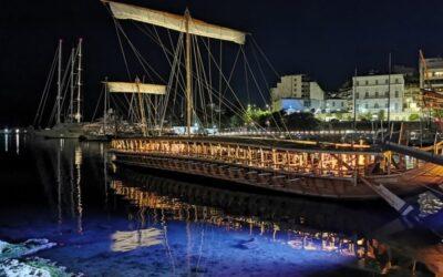 Ο Δήμαρχος Πειραιά επισκέφθηκε την τριήρη «Ολυμπιάς» του Πολεμικού Ναυτικού