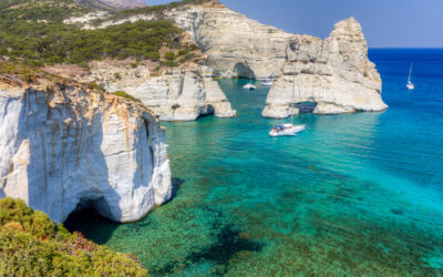 Κλέφτικο: Δείτε την παραλία που έστηναν καρτέρι οι πειρατές