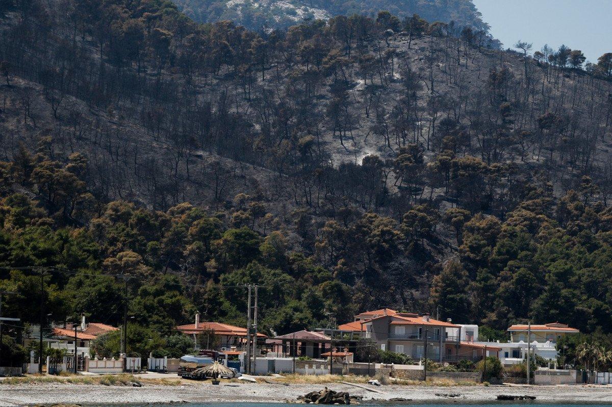 Σοκάρουν τα στοιχεία για την καταστροφική πυρκαγιά στα Γεράνεια Όρη (video)