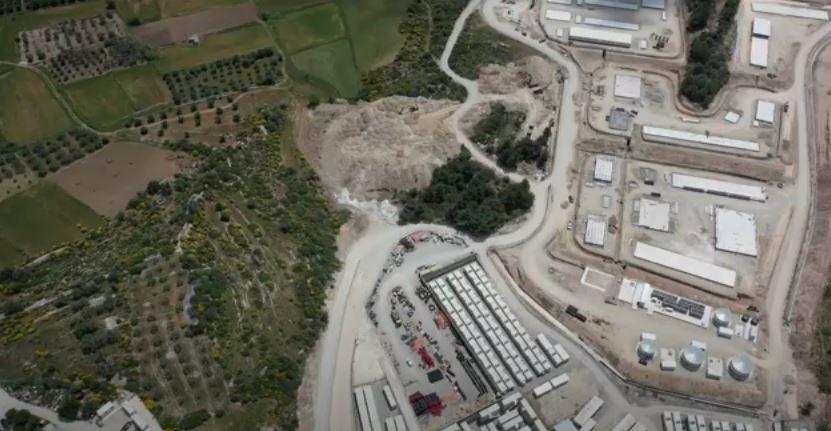 Βίντεο ντοκουμέντο: Η Υπερδομή ΤΕΡΑΣ που κατασκευάζεται για μετανάστες στην Σάμο!
