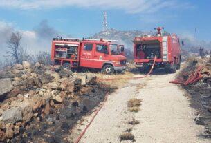 Αίγινα: Μαίνεται η πυρκαγιά που ξέσπασε σε τρεις εστίες (βίντεο)