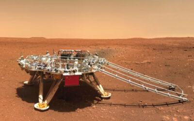 Η Κίνα αφήνει τη «σφραγίδα» της στον Άρη – Η selfie του ρομπότ Zhurong (video)