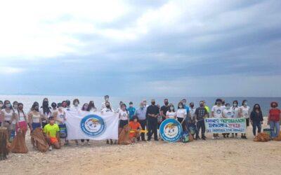 Φρεαττύδα: Εθελοντικός καθαρισμός της παραλίας από «Το Χαμόγελο του Παιδιού»