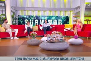 "Survivor 2021: Τα ""άκουσε"" χοντρά η Μαλέσκου από τον Νίκο Μπάρτζη (video)"