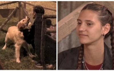 H Φάρμα 2021: Η Μαρία Μιχαλοπούλου υιοθέτησε το σκυλάκι του ριάλιτι (video)