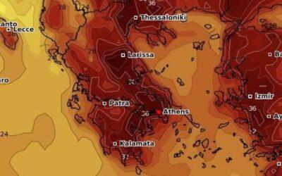 Καιρός 26/6: Θα «ψηθούμε» το Σάββατο, στους 42 βαθμούς ο υδράργυρος