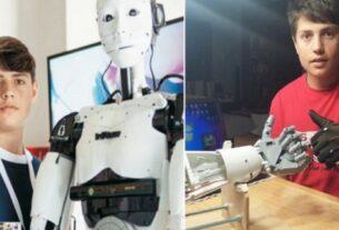 Καβάλα: Ο 15χρονος Δημήτρης Χατζής έφτιαξε ρομπότ με τεχνητή νοημοσύνη χωρίς καμία βοήθεια από το κράτος