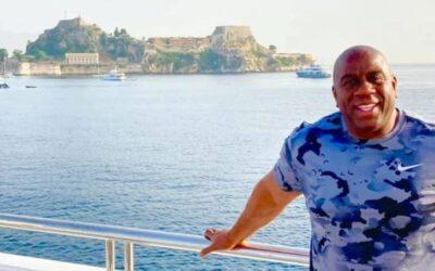 Κέρκυρα: Στο νησί των Φαιάκων ο ο θρύλος του NBA Μάτζικ Τζόνσον!