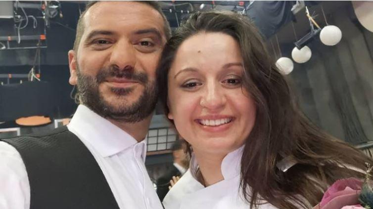 MasterChef 2021: O Λεωνίδας Κουτσόπουλος ποζάρει πρώτη φορά με τη νικήτρια και κουμπάρα του, Μαργαρίτα Νικολαΐδη