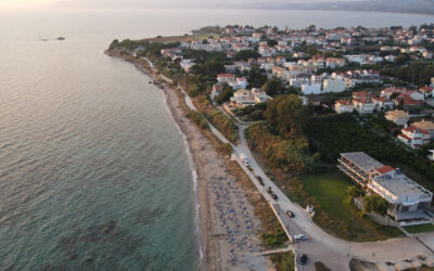 Ιόνιο: Το πανέμορφο χωριό που μοιάζει να επιπλέει στο νερό