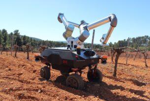 Έφτιαξαν ρομπότ που θα κάνει τις δουλειές που χρειάζεται ένας αμπελώνας – Δείτε τις λειτουργίες του