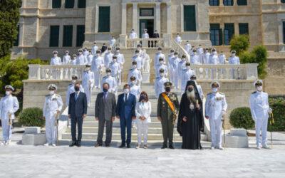 Σχολή Ναυτικών Δοκίμων: Ορκωμοσία νέων Σημαιοφόρων Πολεμικού Ναυτικού τάξεως 2021