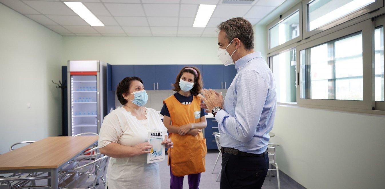 Κερατσίνι: Το Κέντρο Υγείας Κερατσινίου εγκαινίασε ο Πρωθυπουργός (video)