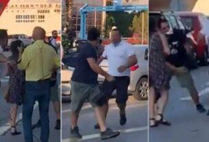 Λιμάνι Πειραιά: Κάμεραμαν του ΣΚΑΪ πλάκωσε στα χαστούκια πολίτη! (video)