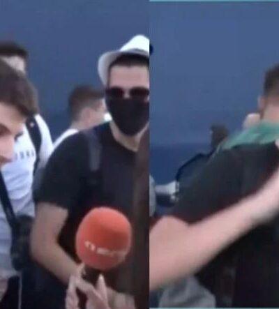 Λιμάνι Πειραιά: Νεαρός δίνει ρεσιτάλ για το εμβόλιο και τρολάρει τον Κυριάκο Μητσοτάκη (video)