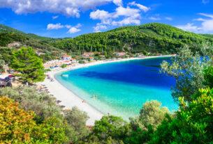 Σκόπελος: Μια παραλία-όαση με δέντρα στη θάλασσα και γαλαζοπράσινα νερά